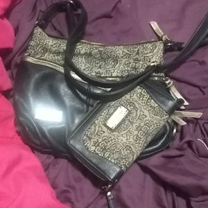 Handbags - Excellent condition Anna Nova purse and wristlet